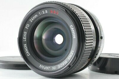 [Mint] Canon FD 24mm F2.8 S.S.C. Wide Angle MF Lens SSC From Japan #192