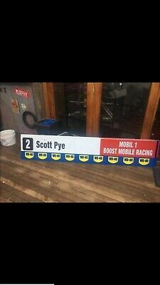 2018 Phillip Island  Scott Pye Pit Board V8 Supercars