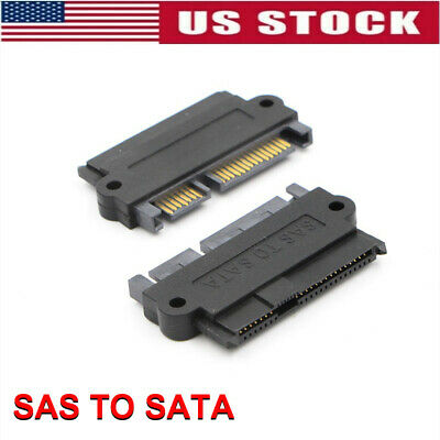 SAS 29pin Female to SATA 22pin Male Adapter Converter Connector for Windows