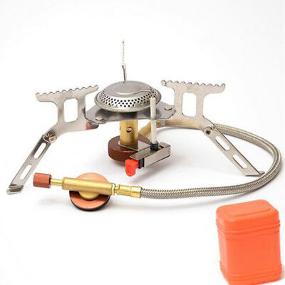 3500W Portable Outdoor Camping Hiking Gas Stove Folding Cooking Burner