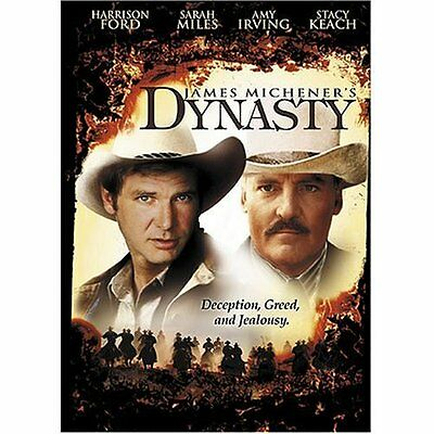James Michener's Dynasty (DVD, 2003) RARE OOP HARRISON FORD 1976 TV MOVIE NEW
