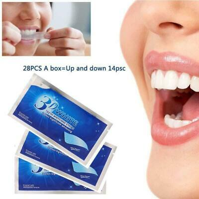 28 3D Professional Teeth Whitening Safe Tooth Bleaching White Strips 14 Pouches