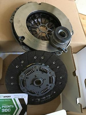 240mm 624329733 LuK Genuine Quality Replacement Clutch Kit 3pc Cover+Plate+CSC