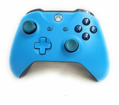 Xbox One - Genuine Official Wireless Controller - Blue Limited Edition Microsoft