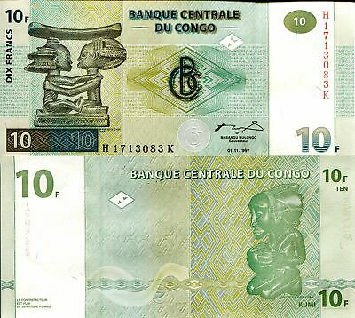 CONGO 500 Francs Banknote World Paper Money UNC Currency Pick p100 Bill Note