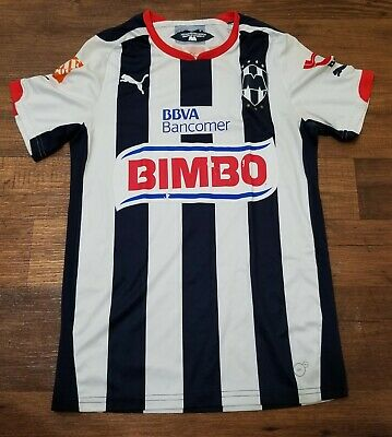 official photos 8717e 096ec C.F. MONTERREY CLUB de Futbol PUMA Soccer Jersey Size Small ...