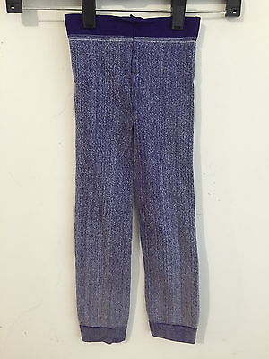 Zara Terez Leggings Cotton Blend Light Purple Heather Girl's Size S NWOT!!