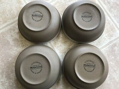 Midwinter stoneware Bowl Set Of 4 Made In England