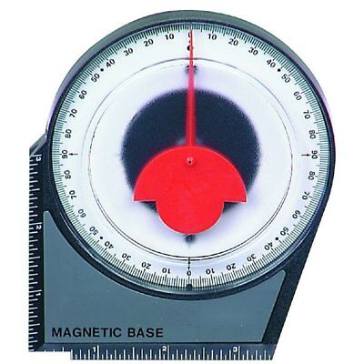 Dial Gauge Angle Finder Magnetic Protractor with Conversion Chart New