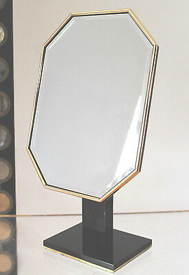 Hollywood Regency French Art Deco Lucite&Brass Vanity Mirror ala Karl Springer