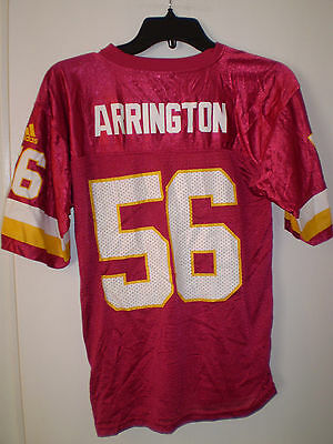 4101120b FRED SMOOT WASHINGTON REDSKINS ADIDAS NFL Jersey #21 youth Medium ...
