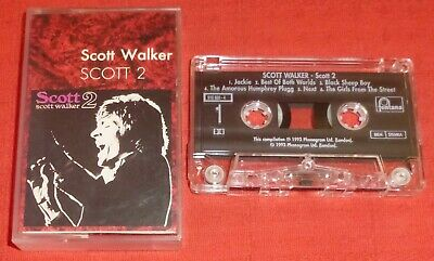 Scott Walker - Rare Uk Cassette Tape - Scott 2