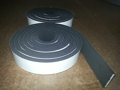 """CLOSED CELL SPONGE 3//16 RUBBER NEOPRENE//EPDM 3//16THKX53/""""WIDEX12/""""ADHESIVE 1 SIDE"""