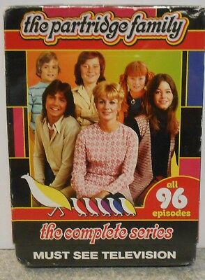 Partridge Family:The Complete Series (DVD, 2015, 8-Disc Set) BRAND NEW