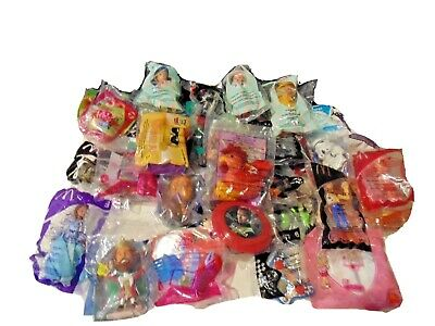 42 Mcdonald's Huge Mixed Lot Of  Sealed Happy Meal Toys New In Bags 1999-2018