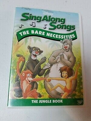 Disneys Sing Along Songs - The Jungle Book: The Bare Necessities (DVD, 2006)
