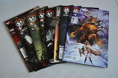 8 xTHE DARKNESS TOP COW COMICS ALL PHOTOGRAPHED AND LISTED