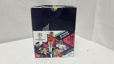 Topps Box Of 20 Packs UEFA Champions League Official Sticker Collection 18/19 HY