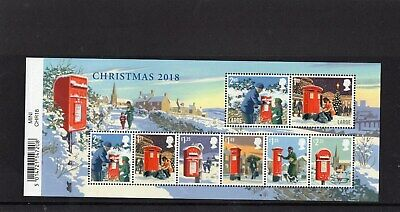 CHRISTMAS 2018 Stamp Mini Sheet Mint - WITH BARCODE MARGIN . **SALE**