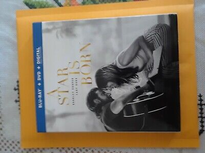 A Star Is Born (Blu-Ray + DVD ) with SLIPCOVER, NO digital