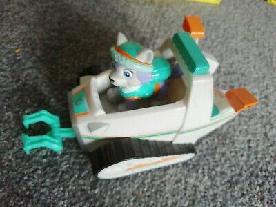 Paw Patrol Everest Rescue Snowmobile and Pup