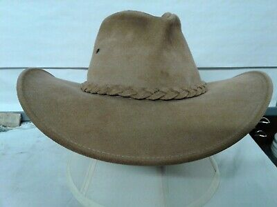 04beea9dfcff3 Suede HENSCHEL HAT CO USA cowboy hat size SMALL adults 5.75