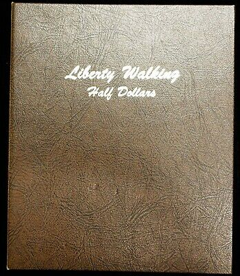 1916-1947 Walking Liberty Silver Half Dollar 64pc Nearly Complete Collection Set