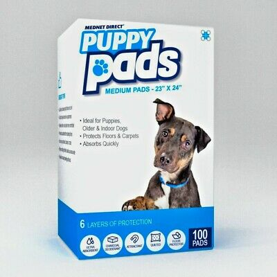 "New Mednet Direct Puppy Dog Pads Medium 23"" x 24"" 