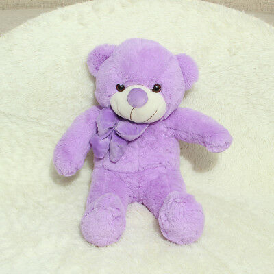 60cm Giant Big Plush Stuffed Purple Teddy Bear Huge Soft Animals Toy Xmas Gift