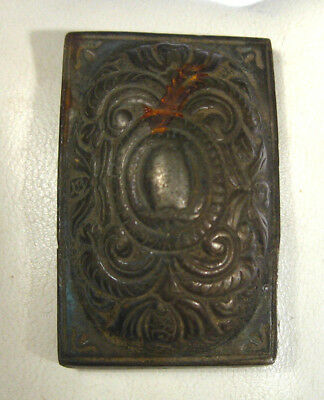 Antiques Beautiful Medieval or Post Medieval Billon Belt Mount Decoration #919