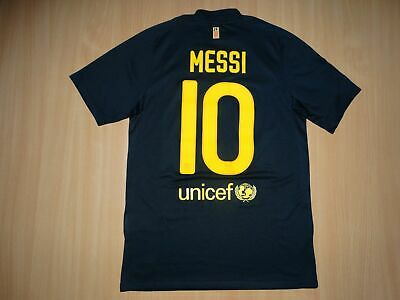 391934bd64c RARE BARCELONA  10 MESSI 2011 2012 AWAY shirt S NIKE jersey camiseta 11 12