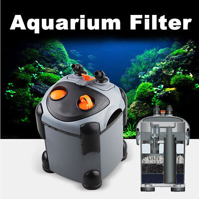 Aquarium CF External Cannister Filter Water Fish Tank Booster Sponge Filtration
