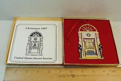Christmas 1997 United States Secret Service Christmas Ornament