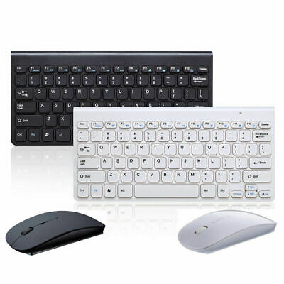 WIRELESS KEYBOARD AND Mouse Combo Set 2 4G For Mac Apple PC
