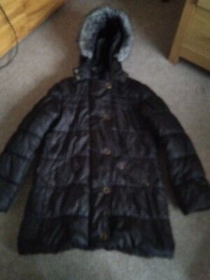 Girls M And S Coat Aged 11-12