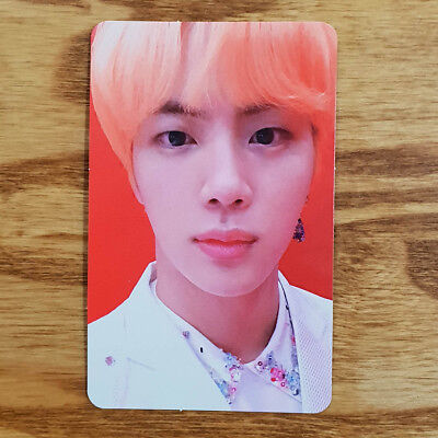 Jin Official Photocard BTS Love Yourself Answer S Version Genuine Kpop