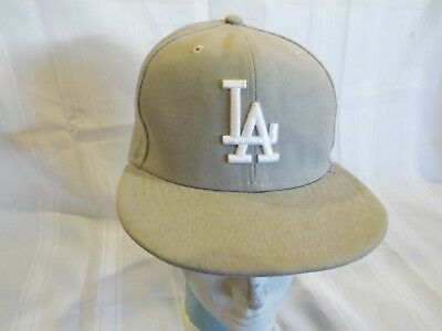75df2f79 NEW ERA 59FIFTY Los Angeles LA Dodgers Game Fitted Hat 7 1/4 MLB Cap