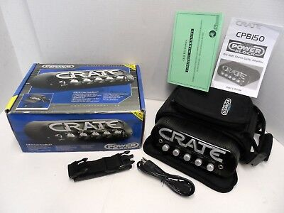 Crate Power Block Powerblock CPB150 Portable Guitar Amp Head VTG STEREO 150 watt