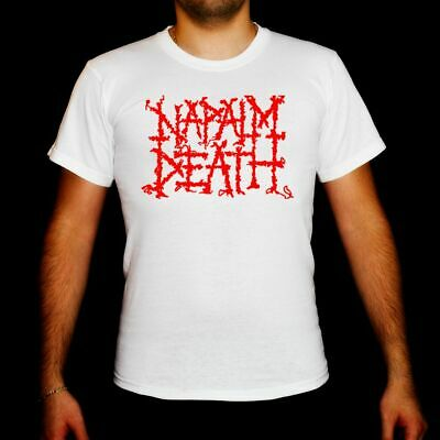 NAPALM DEATH logo RED t-shirt toddler clothing Children clothes boy girl kid