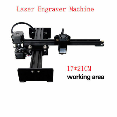 Desktop CNC Router Metal Laser Cutter USB Marking Machine Engraver 5W DIY
