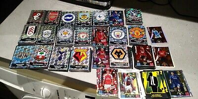 Match attax premier league cards 2018/2019 look very cheap Base cards 100 CLUB