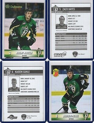 2018/19 Prince Albert Raiders {WHL} Team Issued cards -- You pick from list!