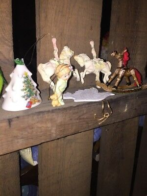 Vintage Huge Lot Of 80 Assorted Christmas Tree Ornaments.