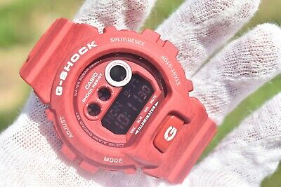 Casio G-Shock Red Digital Dial Resin Quartz Mens Watch GDX6900HT-4 **BRAND NEW**