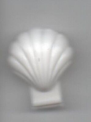 Lego 2x Clam Scallop Shell coquillage st jacques mer sea blanc//white 18866 NEUF