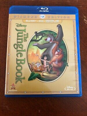 Disney's The Jungle Book (Blu-ray/DVD 2-Disc Set, Diamond Edition) - OOP!