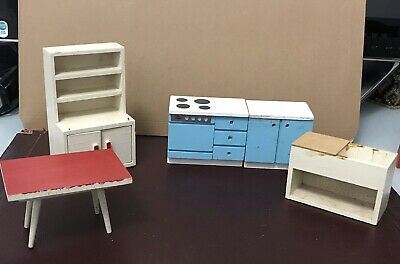 Dolls House Vintage Kitchen Furniture