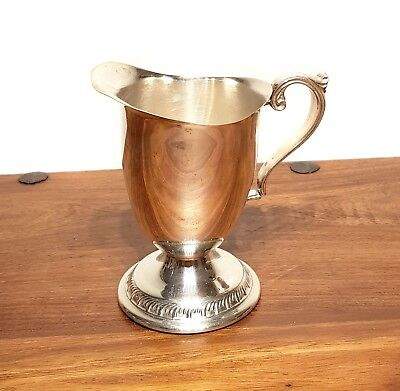 Fab English SILVER PLATED CREAMER SAUCE GRAVY POT