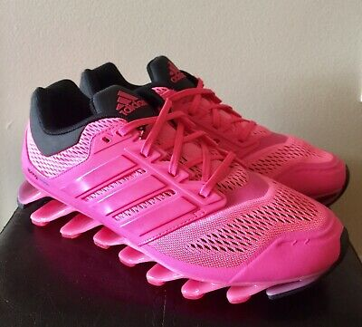 sports shoes 6d4a3 b4b09 adidas Springblade Drive C75669 Pink Black Women s Running Shoes Size 9