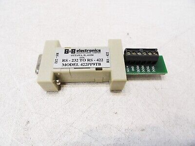 USED B/&B Electronics 422LP25R  Port Powered RS-232 To RS-422 Converter